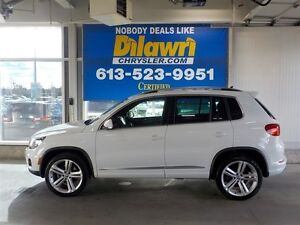 2016 Volkswagen Tiguan HIGHLINE WITH R-LINE PACKAGE
