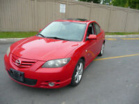 2004 Mazda3-GT 2.3L 4 Cyl, 154k, Manual, As is or Etest, Certifd