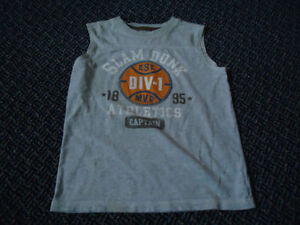 Boys Size 7 OshKosh B'Gosh Basketball Tank Top