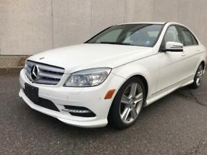 2011 MERCEDES BENZ C300 LUXURY PKG 4MATIC BACK UP CAMERA LEATHER