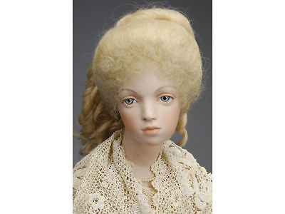 Vintage / Antique Intaglio Nicholas Bramble Portrait Lady Doll Porcelain Bisque
