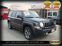 2015 Jeep Patriot NORTH HIGH ALTITUDE