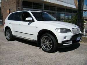 2008 BMW X5 E70 4.8I White 6 Speed Auto Steptronic Wagon Wangara Wanneroo Area Preview