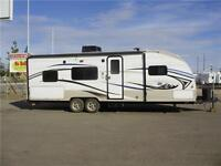 REDUCED 26' TRAILER, 5089 lbs, BUNKS, EXT KITCHEN, $63 b/w (oac)