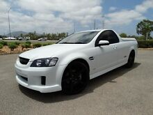 2008 Holden Commodore VE SS-V White 6 Speed Manual Utility Vincent Townsville City Preview
