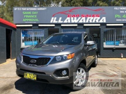 2011 Kia Sorento XM MY11 SI (4x2) Grey 6 Speed Automatic Wagon Barrack Heights Shellharbour Area Preview