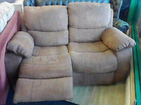 2 Seater Recliner Excellent Condition Extracare Charity Shop Dronfield Civic Centre