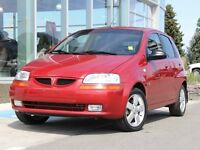 2008 Pontiac Wave 5 Fuel Saver | Sunroof | Auxiliary Audio Jack