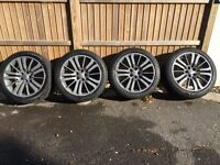 Range Rover Alloys with Tyres