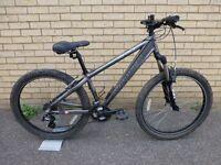 Saracen Xray Pro mountain bike, colour silver
