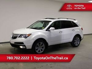 2013 Acura MDX ELITE; AWD, SUNROOF, LEATHER, 7 PASSENGER, ADAPTI