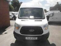 Ford Transit T350 L3 High Roof 2.2 Tdci 125Ps H3 Van DIESEL MANUAL WHITE (2015)