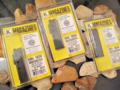 3-Pack Magazine Fits Mossberg Model 140 142 144 152 144LS 22  22 LR Mag Mags