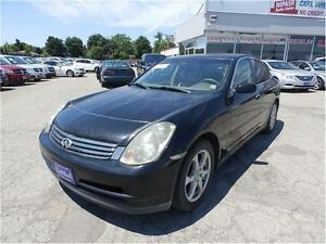 "2003 Infiniti G35 Sedan, BEING SOLD ""AS-IS"
