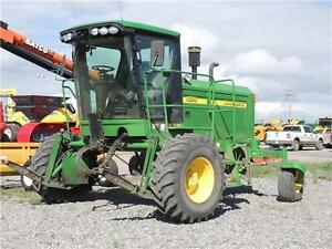 2008 John Deere 4895 & WS36 Swather Package - 115hp 1118hrs cutt