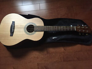 FENDER 3/4 SIZE ACOUSTIC KIDS GUITAR, LIKE NEW CONDITION
