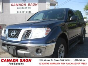 2011 Nissan Frontier, 4X4, AC, 2 SETS OF TIRES, 12 M WRTY+SAFETY