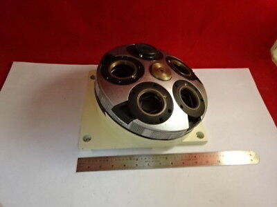 Zeiss Germany Nosepiece Microscope Part Without Optics As Is 4b-a-07