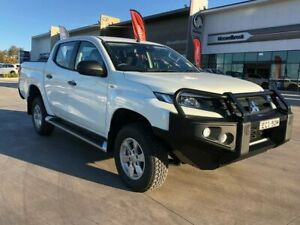 2019 Mitsubishi Triton MR MY19 GLX+ Double Cab White 6 Speed Manual Utility Muswellbrook Muswellbrook Area Preview