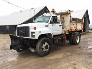 1999 GMC 7500 Sander Spreader Dump Truck