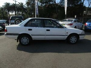 1992 Toyota Corolla AE94 CSi White 4 Speed Automatic Sedan Waratah Newcastle Area Preview