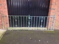 Wrought Iron Drive-Way Gates (Used in good condition).