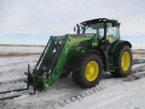 2015 JD 6140R MFWD Tractor