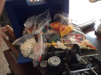 Used,  Knex K Nex K'nex Lot Building Toy Pieces Parts Plus Travel Case for sale  Vacaville