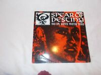 """12in 45 So In Love With You / March Or Die / So In Love With You 7"""" Version – Virgin VST 1125"""