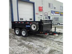 Load Trail DT122 7' X 12' Tandem Axle Dump Trailer
