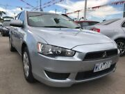 2008 Mitsubishi Lancer CJ MY09 ES Silver 6 Speed Constant Variable Sedan Maidstone Maribyrnong Area Preview