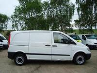2008 MERCEDES BENZ VITO 2.1 109CDI Compact Panel Van NO VAT