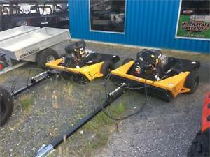 BERCOMAC Rough Cut Tow-Behind Brush Cutter w/ Electric Lift