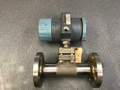 Vortex Foxboro Flow Meter Model E83-l-1hs10sit-c 14-30 Vdc W 1 12 Valve