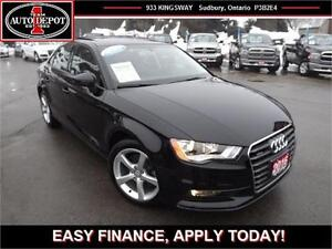 2016 Audi A3 2.0T!! QUATTRO AWD!! HEATED LEATHER!! SUNROOF!!