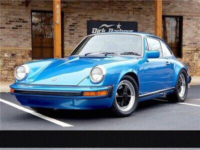 1976 Porsche 911 S 1976 Porsche 911S in Minerva Blue AMAZING CAR!