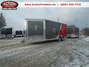 22' NEO SPORT ALL ALUMINUM TRAILER - THIS ONE WON'T LAST LONG!!