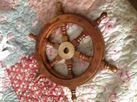 Handmade Ship Wheel Decor - Etsy