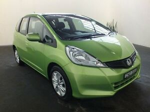 2013 Honda Jazz GE MY12 Update Vibe Green 5 Speed Automatic Hatchback Clemton Park Canterbury Area Preview