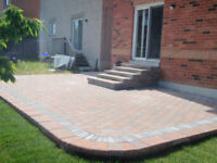 STONE DRIVEWAY, STEPS, RETAINING WALLS - ALL YOUR OUTDOOR NEEDS