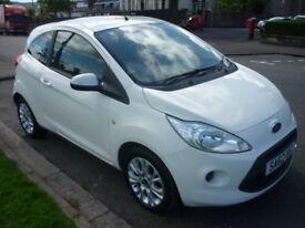 Ford Ka 1.2i 8V 69BHP EDGE STOP/START **£30 Yearly Road Tax** (white) 2012