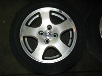 Acura GSR Fat Five Wheels Bridgestone RE11 Tires Civic Integra