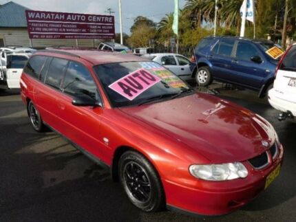 2001 Holden Commodore VX Acclaim Burgundy 4 Speed Automatic Wagon Waratah Newcastle Area Preview