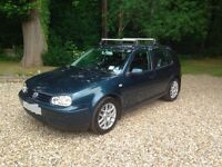 2001 VW Golf (Mk IV) V5, 2.3l 20V (170bhp version)