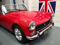 MG MIDGET 1275CC SERIES 3 CHROME BUMPER MODEL - GORGEOUS CAR IN EVERY WAY - MUST BE SEEN!!
