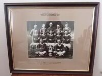 fa cup winners 1927 cardiff city framed photograph
