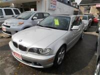 2005 BMW 325ci Coupe Silver Leather Sunroof 191,000km City of Toronto Toronto (GTA) Preview