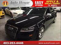 2010 AUDI S6 AWD 5.2 V10 435HP LEATHER ROOF NAVI B CAM $39988