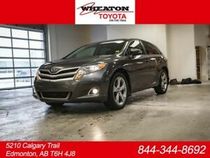 2016 Toyota Venza LE, V6, AWD, Leather, Heated Seats, Touch Scre