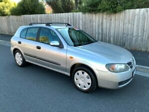 2004 Nissan Pulsar N16 MY03 ST Silver 4 Speed Automatic Hatchback North Hobart Hobart City Preview